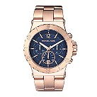 Michael Kors ladies' rose gold plated bracelet watch - Product number 9033203