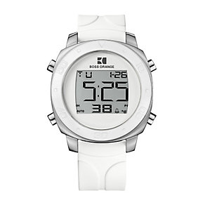 Boss Orange White Strap Digital Watch - Product number 9034536