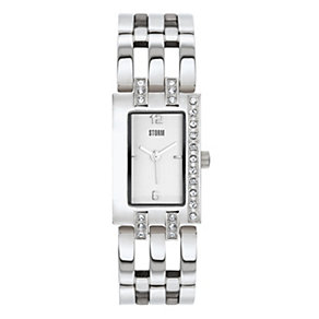 Storm Ladies' Stainless Steel Stone Set Bracelet Watch - Product number 9034587