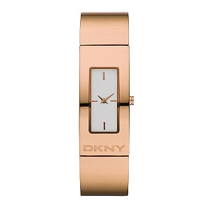 DKNY Ladies Rose Gold Bracelet Watch