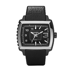 Diesel Black Strap Watch