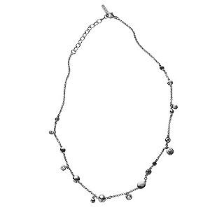 DKNY Stone Set Station Necklace