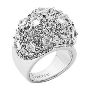 DKNY Crystal Ice Ring