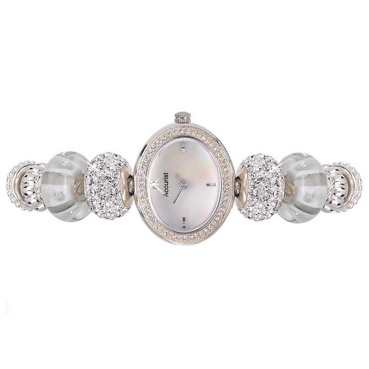 Charmed By Accurist Stone Set Charm Bracelet Watch - Product number 9040153