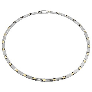 Pequignet ladies' two colour moor diamond necklace - Product number 9043209