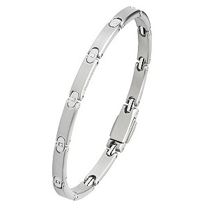 Pequignet stainless steel diamond bracelet - Product number 9043217