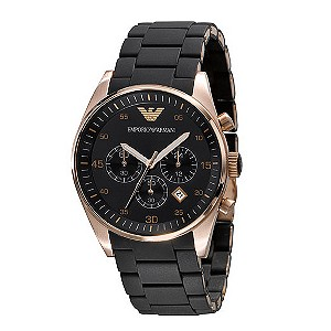 Emporio Armani men's black bracelet watch - Product number 9044752