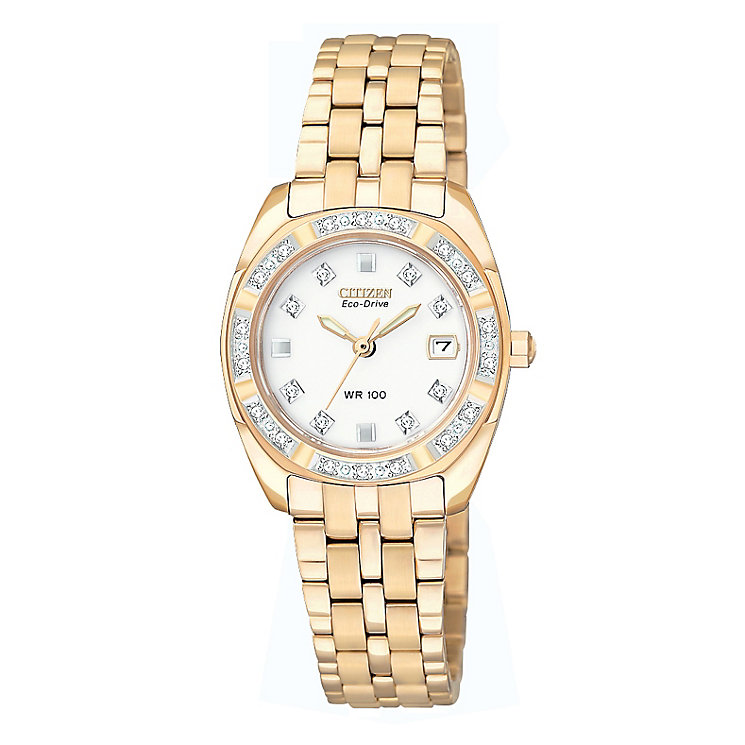 Citizen Eco-Drive Ladies' Bracelet Watch - Product number 9052224