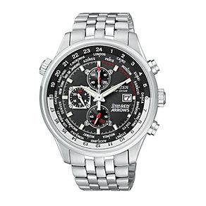Citizen Eco-Drive Red Arrow WR100 Men's Bracelet Watch - Product number 9052356