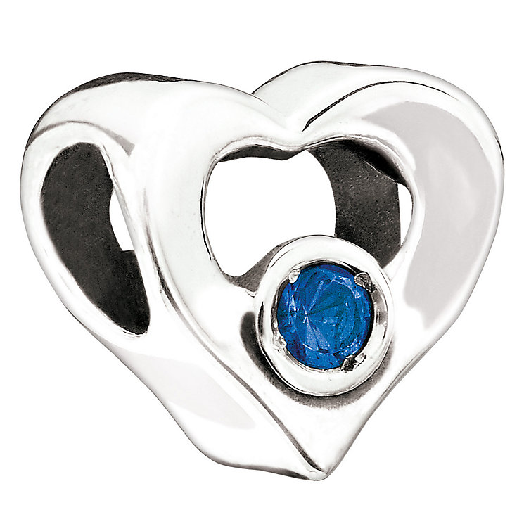 Chamilia blue heart bead - Product number 9054715