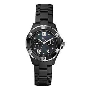 Gc Sport Class XLS Glam ladies' black ceramic watch - Product number 9055495