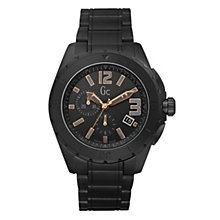 Gc Sports Class XXL men's black ceramic bracelet watch - Product number 9055533