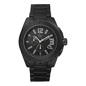 Gc Sports XXL men's black ceramic bracelet watch - Product number 9055541