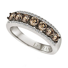 Le Vian 14ct Vanilla Gold Chocolate Diamond ring - Product number 9056432