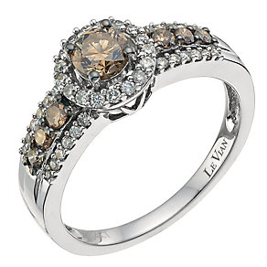 Le Vian 14ct Vanilla Gold Chocolate Diamond ring - Product number 9058168
