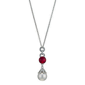 Pearl Effect Crystal Pendant - Product number 9058540