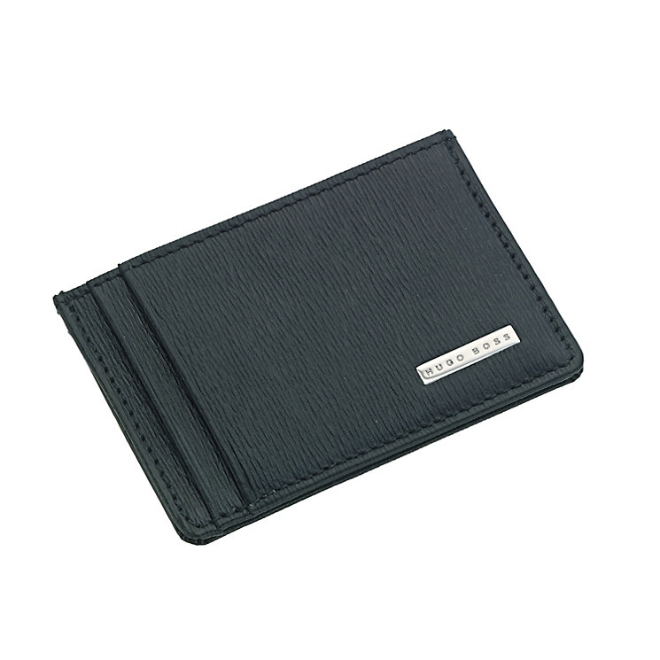 Hugo Boss men's black leather cardholder - Product number 9063145