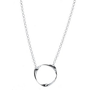 Eternal Silver hanging mobius pendant - Product number 9070532