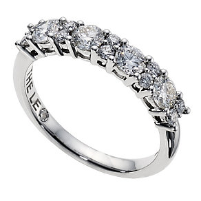 Leo Diamond 18ct white gold 1 carat diamond eternity band - Product number 9074317