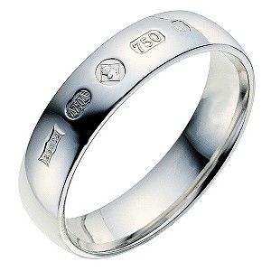 18ct white gold Jubilee wedding ring - Product number 9075828