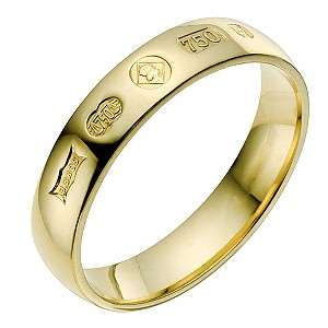 18ct yellow gold Jubilee wedding ring - Product number 9076212