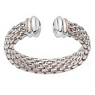 Fope Twin Naos silver bangle - Product number 9078738