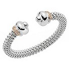Fope Twin Fizzy silver bangle - Product number 9078789