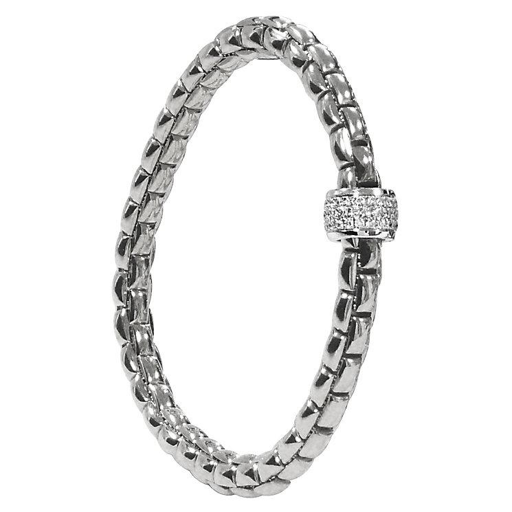 Fope Eka Flex 'It 18ct white gold bracelet - Product number 9092307