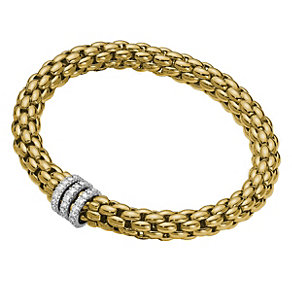 Fope Niue Flex-It 18ct yellow gold bracelet - Product number 9092323