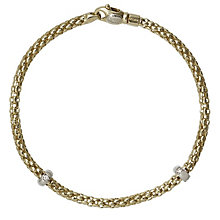 Fope 18ct yellow gold diamond bracelet - Product number 9092439