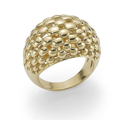 Fope 18ct yellow gold Chelonia ring