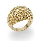 Fope Chelonia 18ct yellow gold diamond ring - Product number 9092587