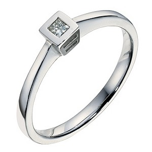 9ct white gold diamond ring - Product number 9094210
