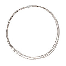 Marco Bicego 18ct white gold diamond necklace - Product number 9095799