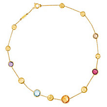 Marco Bicego 18ct yellow gold multi stone necklace - Product number 9095896