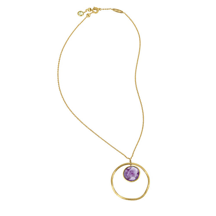 Marco Bicego 18ct yellow gold amethyst pendant - Product number 9095918