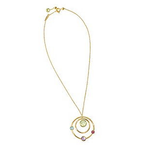 Marco Bicego 18ct yellow gold multi stone pendant - Product number 9095926