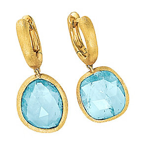 Marco Bicego 18ct yellow gold blue topaz earrings - Product number 9095934
