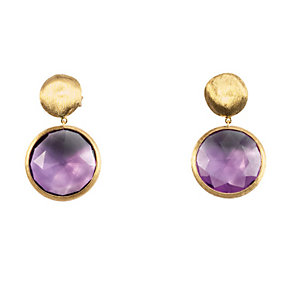 Marco Bicego  Jaipur 18ct yellow gold amethyst earrings - Product number 9095942
