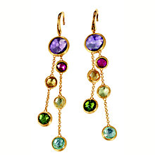 Marco Bicego 18ct yellow gold multi stone earrings - Product number 9095969