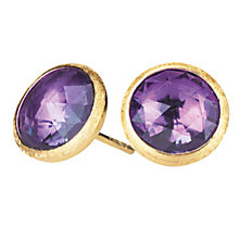 Marco Bicego 18ct yellow gold amethyst earrings - Product number 9095985