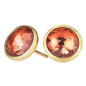 Marco Bicego 18ct yellow gold pink tourmaline earrings - Product number 9095993