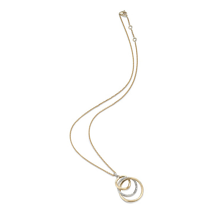 Marco Bicego 18ct yellow gold diamond pendant - Product number 9096116