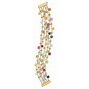 Marco Bicego 18ct yellow gold multi stone bracelet - Product number 9096183