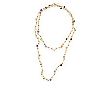 Marco Bicego 18ct yellow gold multi stone necklace - Product number 9096205
