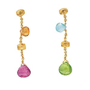 Marco Bicego 18ct yellow gold multi stone earrings - Product number 9096248