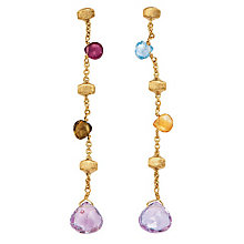 Marco Bicego 18ct yellow gold multi stone earrings - Product number 9096256
