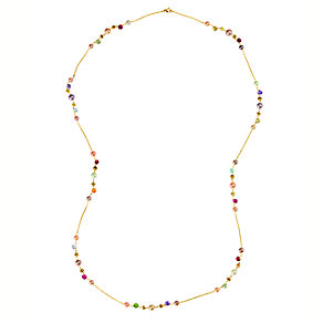Marco Bicego 18ct yellow gold pearl and multi stone necklace - Product number 9096337