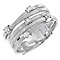 Marco Bicego 18ct white gold five row diamond ring - Product number 9096388