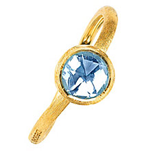 Marco Bicego 18ct yellow gold blue topaz ring - Product number 9097201